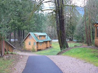McKenzie Bridge cabin photo - On the Wild and Scenic McKenzie River!