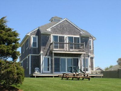Front of the house facing Nantucket Sound.