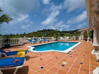 Orient Bay villa photo - Terrace and Pool
