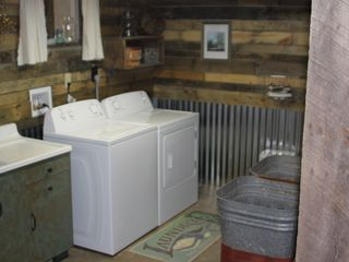 Lehighton house photo - laundry room with brand new washer and dryer