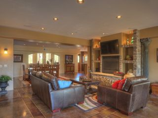 Scottsdale house photo - large living & entertaining area. house has open floor plan, flows effortlessly