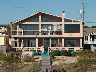 House Toward Beach