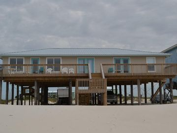 Fort Morgan house rental - Gulf Side View