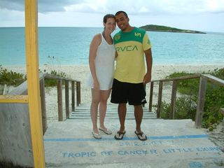 Great Exuma villa photo - Villa 29 honeymooners at Tropic of Cancer Beach - another great spot to find!