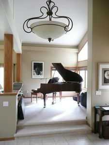 Entry and our baby grand. Try your hand!