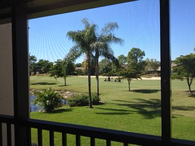 Golf course, pond and beautiful sunset views from west facing Lanai