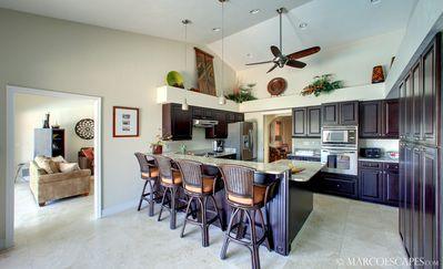 Fully Appointed and Modern Caribbean Kitchen ...