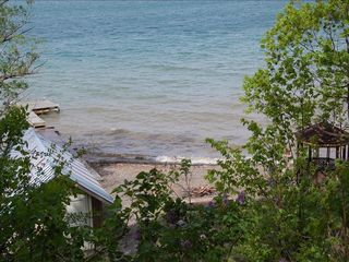 Ithaca cottage photo - Beach, Boathouse, Dock & Gazebo!