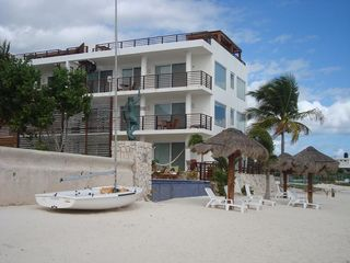Puerto Morelos condo photo - Another view from the beach