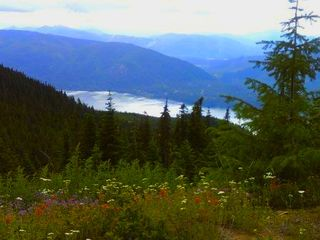 Snoqualmie Pass lodge photo - View Lake Kachess from Kachess Ridge