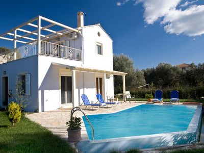 Agios Ioannis villa rental - Villa Iolis outside (day)