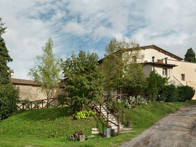Monterchi farmhouse rental - Holiday Home Exterior [summer]