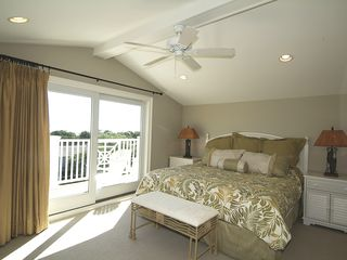 Isle of Palms house photo - 3rd Floor Master Suite with Private Balcony
