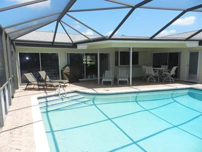 Lanai Patio with heated pool