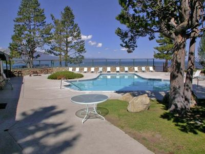 Tahoe Keys cabin rental - Lakefront Keys Pool