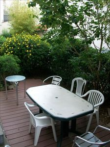 Enjoy a meal in your private garden