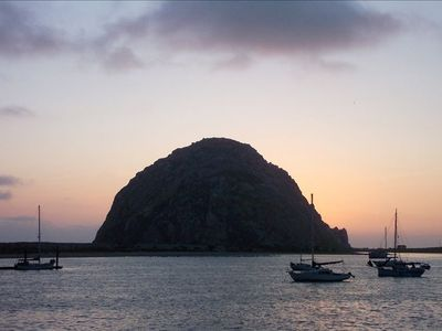 Morro Rock from the Harbor