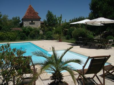 18th century renovated farm building in Gascony: Le Bourdieu de Combarrau