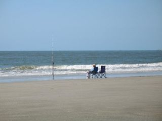 Sea Pines condo photo - Surf fishing