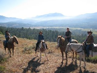 Jackson Hole house photo - Guest Prepare For Trail Ride