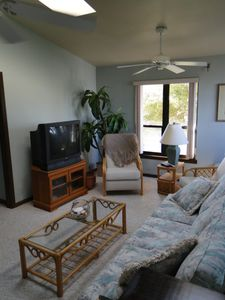 Fort Myers Beach house rental - Over the Game Room Suite Sitting Area