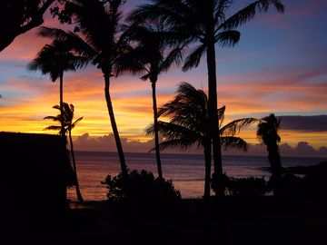Gorgeous Sunset - photo taken from cottage lanai!