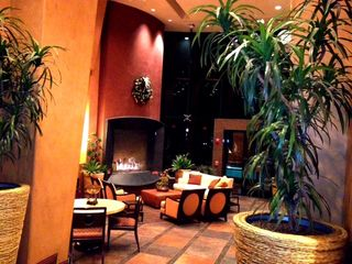 Clubhouse with fireplace - Montage Scottsdale condo vacation rental photo