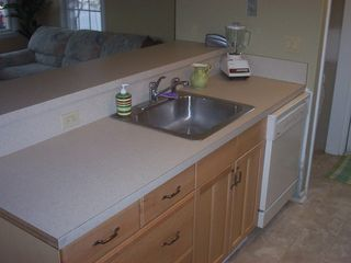 Seaside Park apartment photo - Very clean and fully equipped kitchen-Downstairs Rental