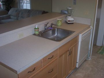 Very clean and fully equipped kitchen-Downstairs Rental