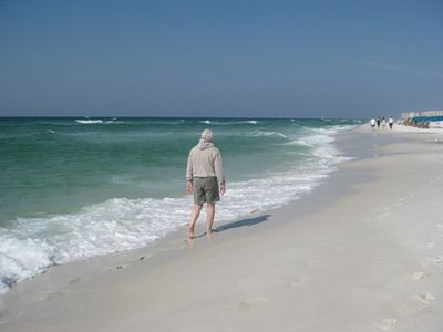 GRANDPA LOVES LONG WALKS ON THE BEACH