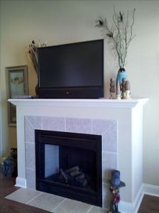 Fireplace & TV Console