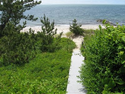 Path to the beach.