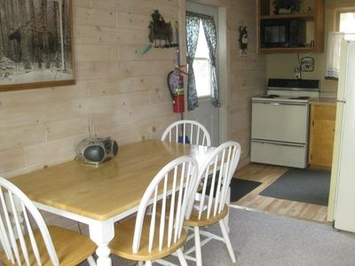 Iron River cabin rental - Fully equipped Kitchen