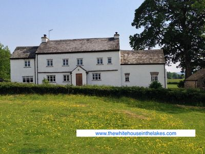 The White House In The Lakes - A Large, Beautiful Detached Home, Sleeps 12