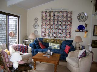 Madaket townhome photo - living room