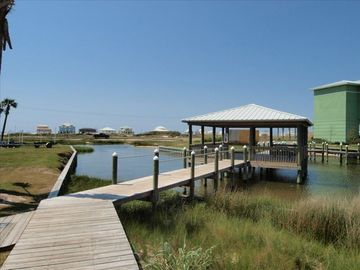 Nice Gazebo with views of both the bay and gulf