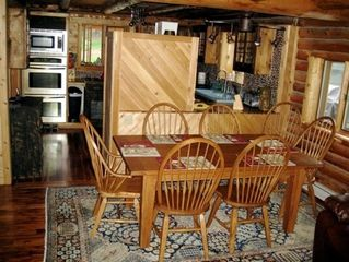 Lake Placid cabin photo - Dining Area