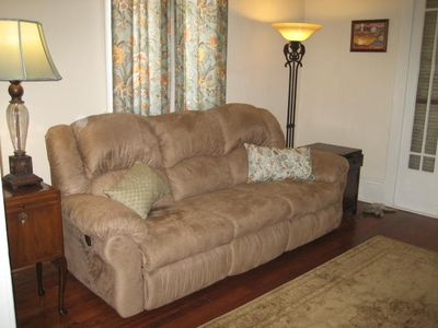 Living room/1st parlor, double recliner