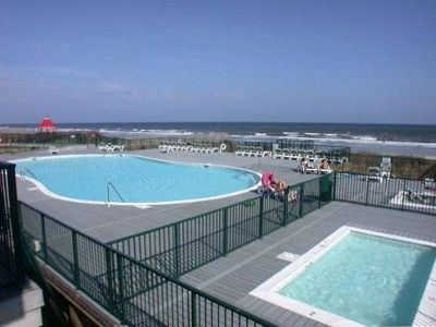 You'll enjoy free access to this beautiful oceanfront pool complex.