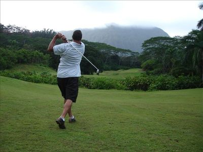 Luana Hills local Golf course - Excellent choice - 3 mile drive from Suite