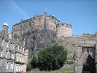 Spectacular View of Castle