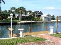 Stunning Waterfront 3 bedroom home with pool/boat dock