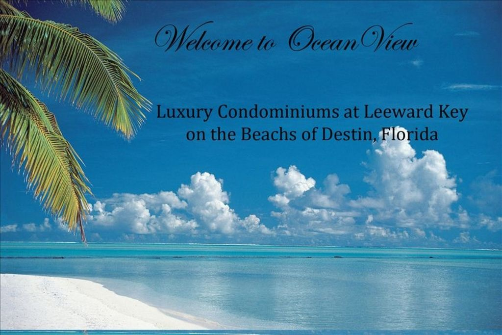 4 bedroom ocean view luxury condo leeward key destin fl - Destin florida 4 bedroom condo rentals ...