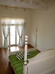 Sozopol house photo - Here is the master bedroom looking straight to the sea.
