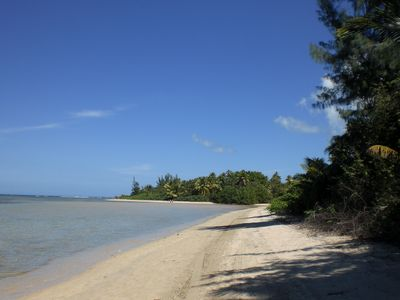 Western corner of Luquillo Beach