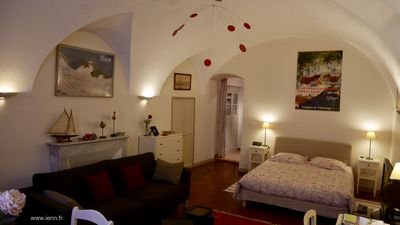 Charming flat in Bastia historical centre. Official ranking : 3 stars, 3 keys Clévacances