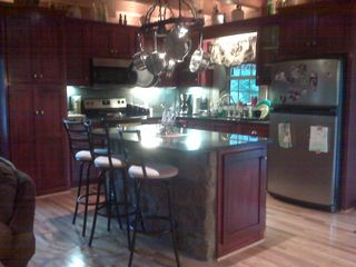 Claytor Lake cabin photo - Beautiful Kitchen! Can you smell it?