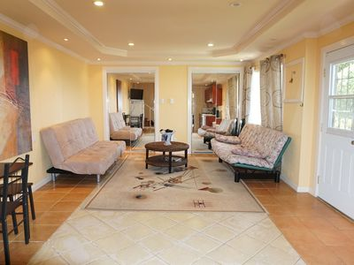 Large, Private One Bedroom Apartment