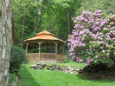 Gazebo for hot tub
