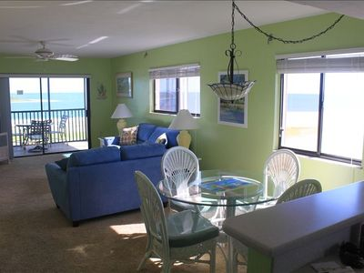 Corner Condo provides bright and open ocean views from all around the condo.